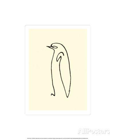 Le Pingouin, c.1907 Serigraph by Pablo Picasso