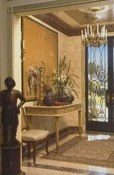 William R Eubanks Interior Design And Antiques Press ECLECTIC GLAMOUR IN PALM Elegant Home DecorEntry LevelTraditional