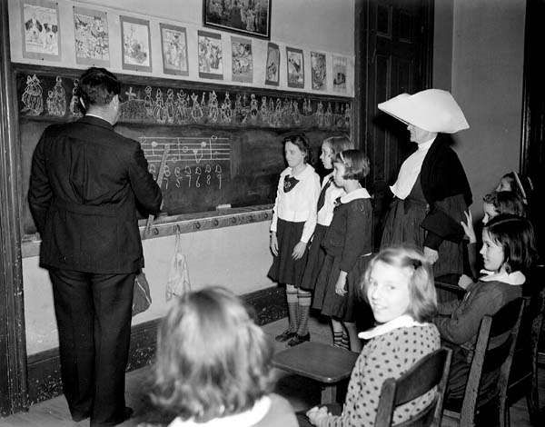 Music Class at St Elizabeths Orphanage New Orleans 1940 - Orphanage - Wikipedia, the free encyclopedia
