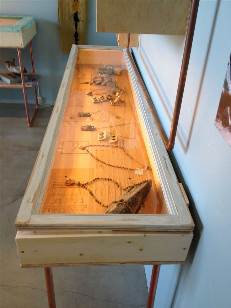 25 Best Ideas About Jewelry Display Cases On Pinterest