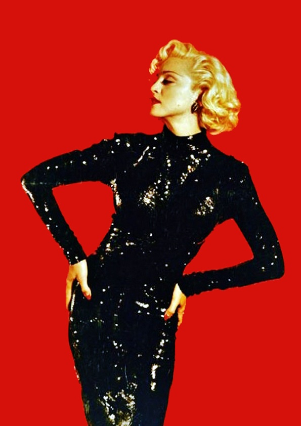 Madonna in Dick Tracy. Another slightly over-the-top femme fatale.