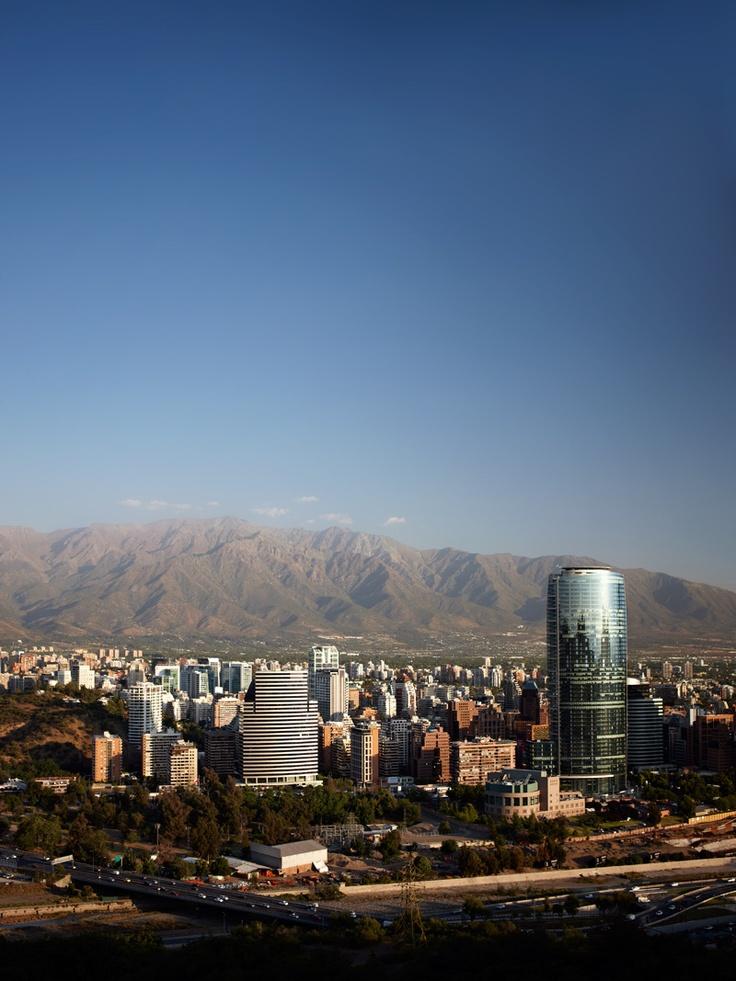 Santiago de Chile. Una hermosa vista!