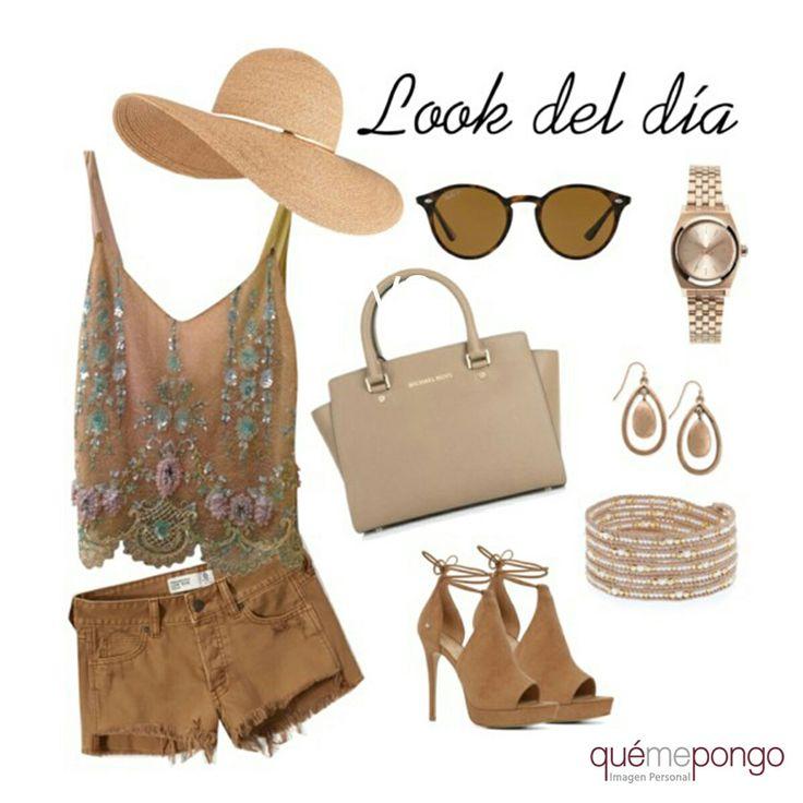 Nuestra propuesta de hoy juega con los tonos marrones y nude ¿Qué os parece? #quemepongo #qmp #look #outfit www.quemepongo.es