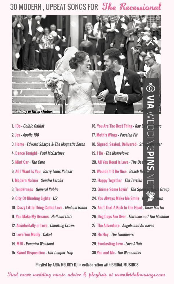 Wedding Recessional Songs 2017.Best Story Best Wedding Songs Of 2017 Bridgetborden