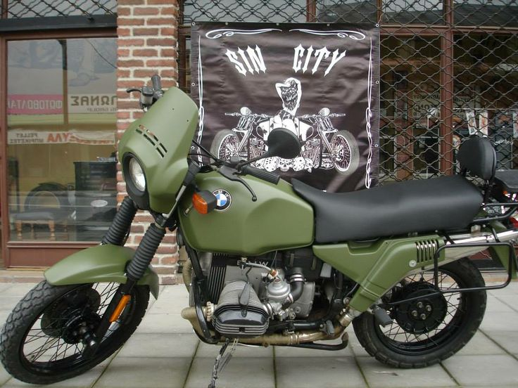 BMW GS-1000 Airbrush & Paint by SIN CITY!!