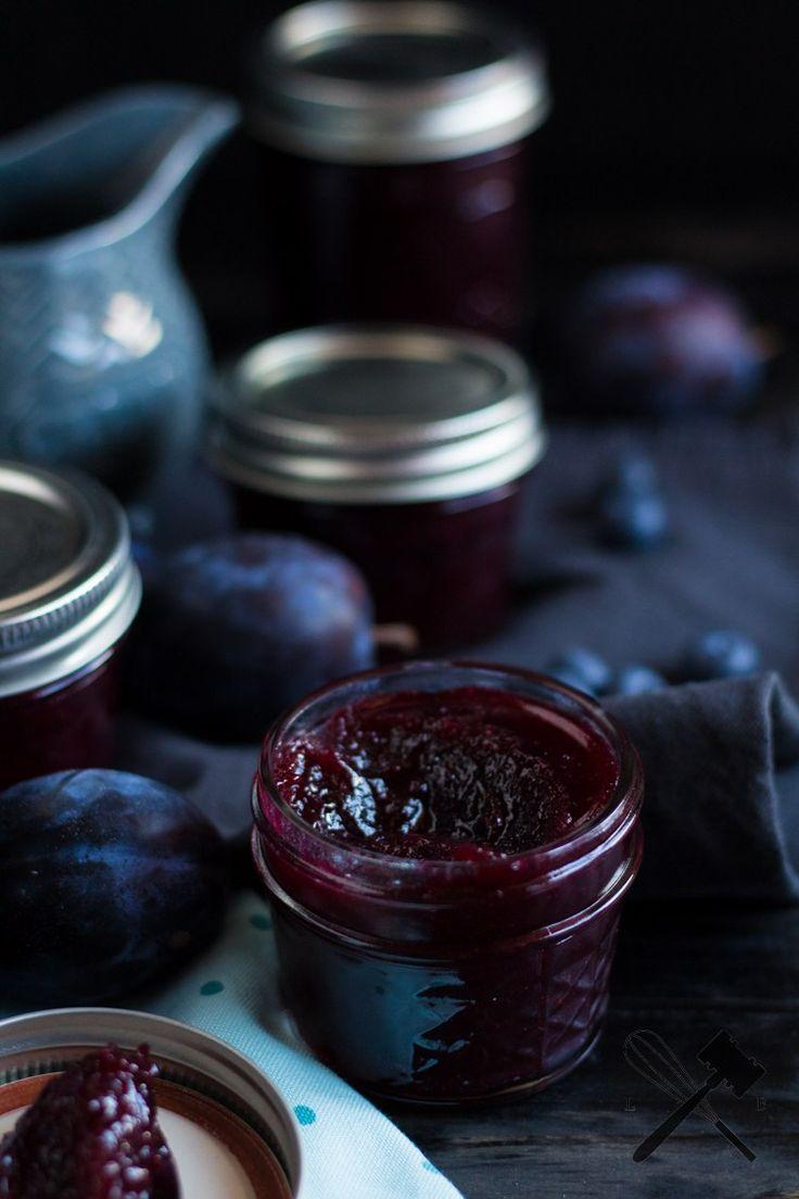 Zwetschgen-Heidelbeer Marmelade