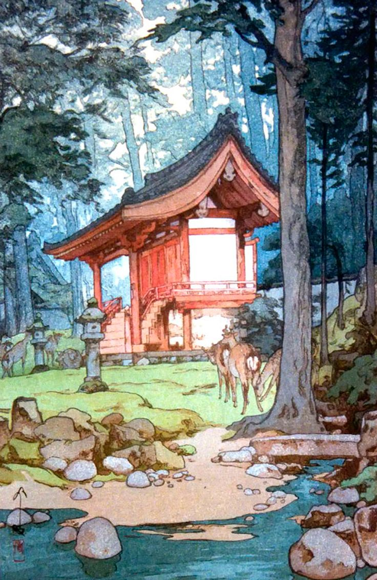 theartofanimation: Hiroshi Yoshida