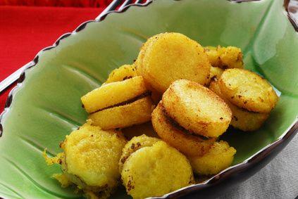 Baked Herb Polenta Fries