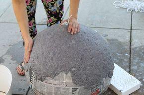 DIY: How to Make A Paper Mache Lamp   Pretty Prudent