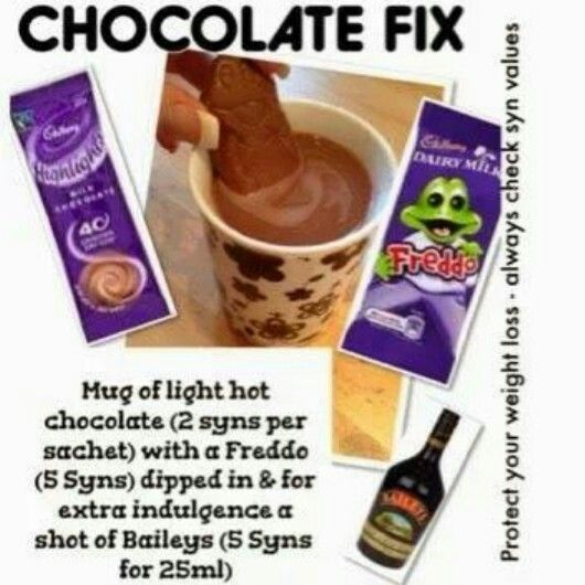 Chocolate treat slimming world style
