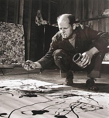 "Jackson Pollock: ""Every good artist paints what he is"""