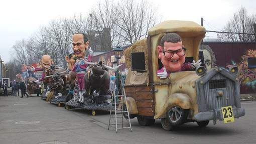 Aalst viert carnaval: praalwagens op weg naar start stoet - HLN.be