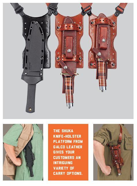 SHUKA covert knife Carry