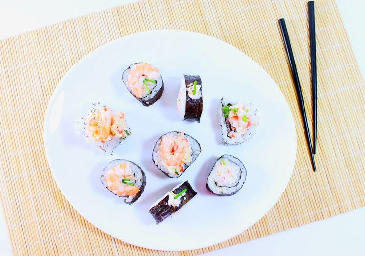 No Conforto da Minha Cozinha...: Sushi até para quem não gosta!