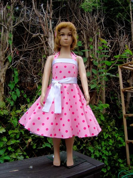 Petticoat,50er,Rockabilly,Mädchen,Kleid,Dress+von+Historische-Kostüm-Welt+auf+DaWanda.com