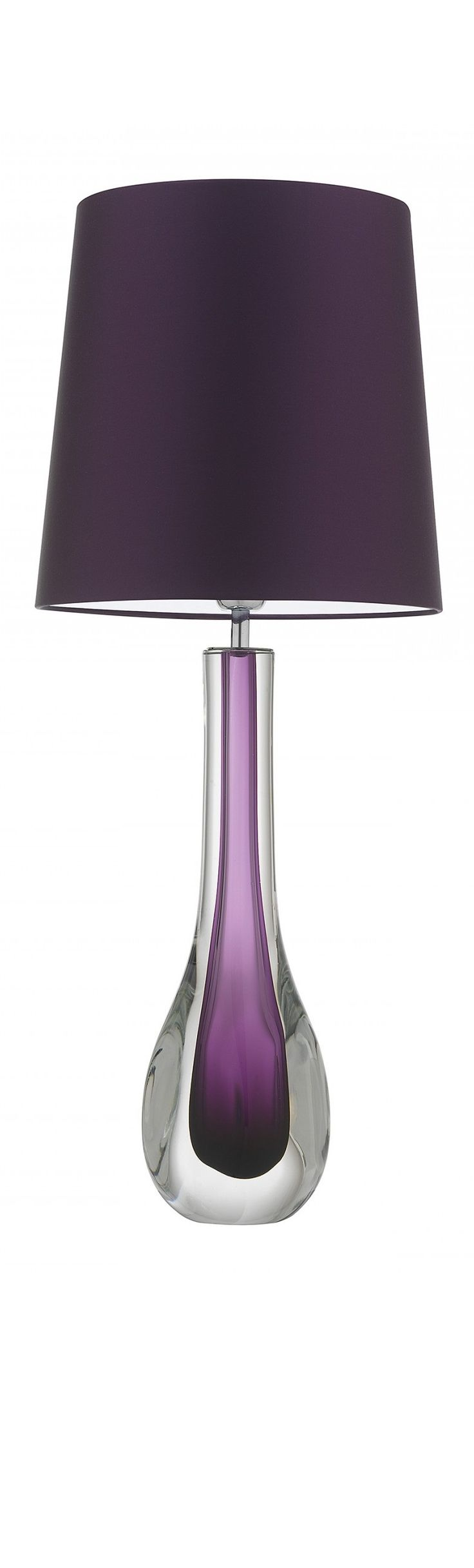 """Purple Lamp"" ""Purple Lamps"" ""Purple Lamps For Sale"" modern lighting, bedroom lighting, living room lighting, would you like this beautiful lamp in your home? Vote by clicking the LIKE button below. For more beautiful decor visit our Hollywood On Line Showroom @ InStyle-Decor.com Over 5,000 Luxury Decorative Inspirations to Enjoy, Pin & Share"