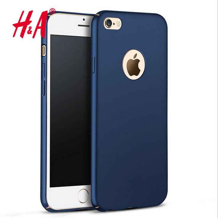 Moda de lujo slim case para el iphone 5s se 6 6 s case colorido mate matorral duro contraportada casos de teléfono para iphone 5 6 s 7 Capa