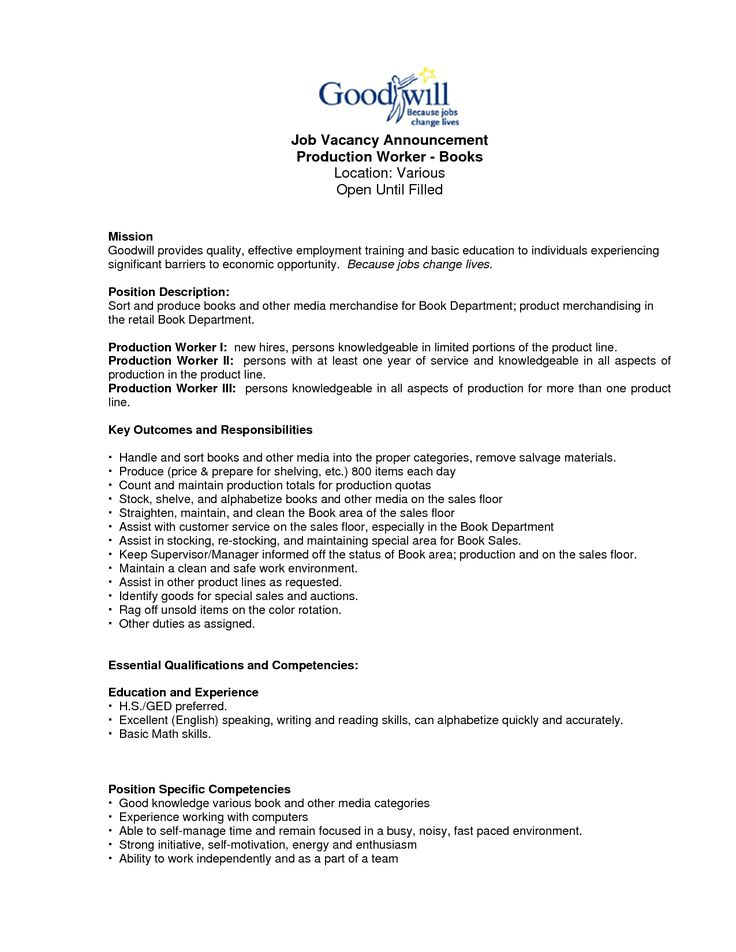 Production Worker Resume Sample Resume Production Worker 20