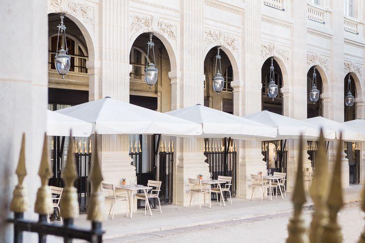 Restaurant du Palais Royal à Paris, Île-de-France #Terrace #Paris #Palais #Royal