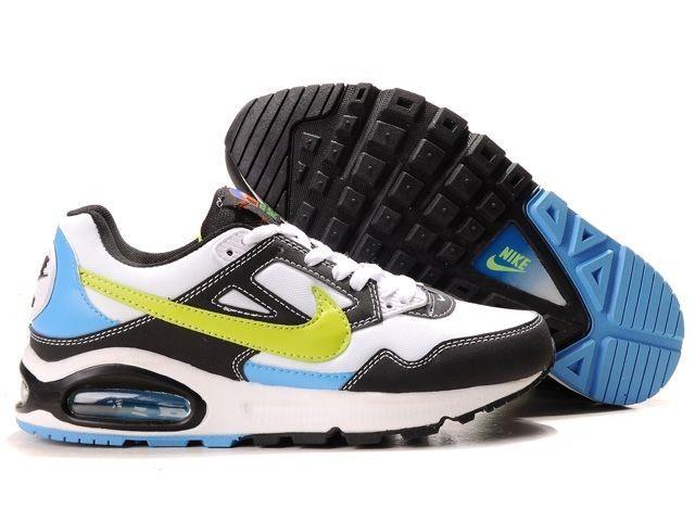 Nike Azules Con Blanco