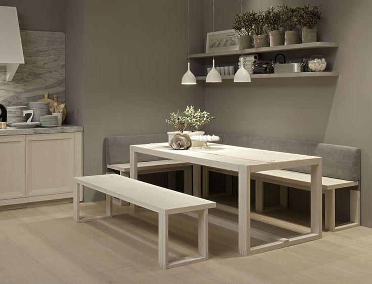 Mesa sillas y bancadas arkadia mesas pinterest - Mesas para costura ...