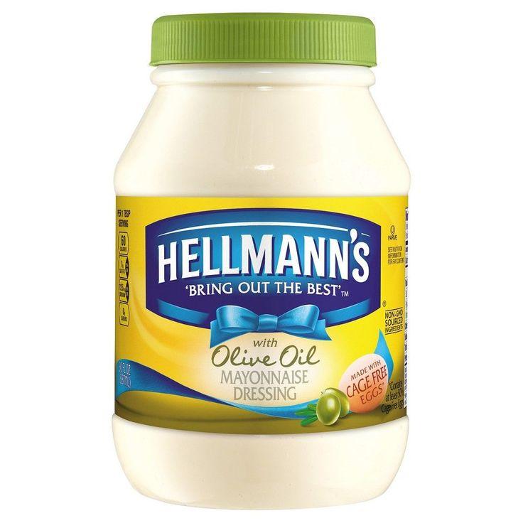 Hellmann's Mayonnaise Dressing with Olive Oil 30 oz