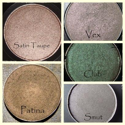 Globulinas de colores: Mi top 5 de sombras MAC