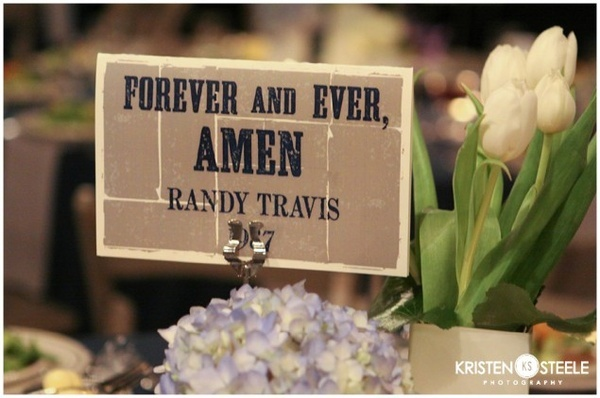Table Settings - Wedding