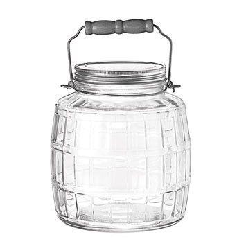 Barrel Jar by Anchor Hocking