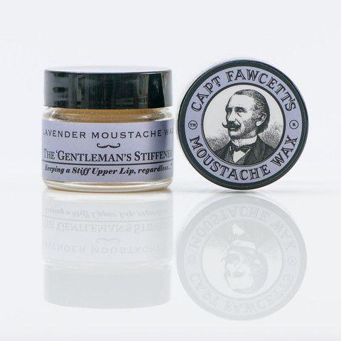 Moustache Wax Lavender - Cera de Bigote - Lavanda - Capt. Fawcett 4