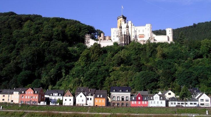 Stolzenfels castle, a photo from Rheinland-Pfalz, West | TrekEarth
