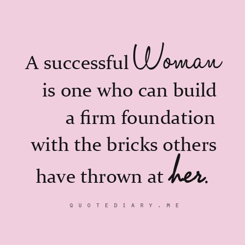 successful woman Successful Women - Success Quotes