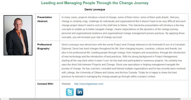 People and the change journey - National Capital PM Symposium Oct 14-16