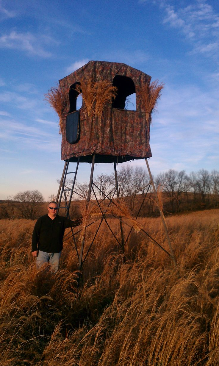 redneck review img wired blinds hay blind outfitter to bale bail gear hunt