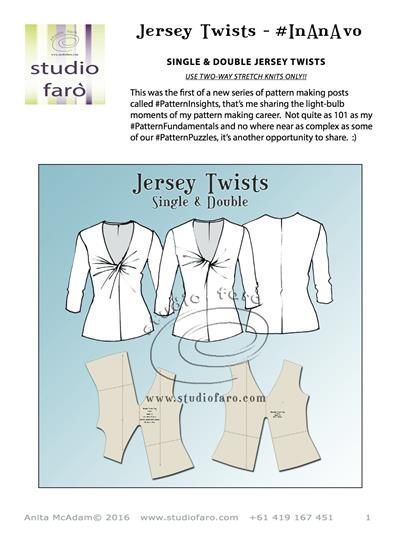 1000+ images about Pattern Making on Pinterest | Jersey dresses ...