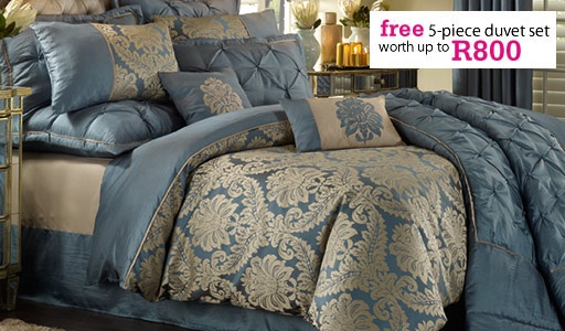 Sofia Teal Bedset Duvets Amp Comforters Homechoice