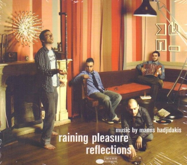 RAINING PLEASURE/ REFLECTIONS( BY MANOS XADJIDAKIS) -CD