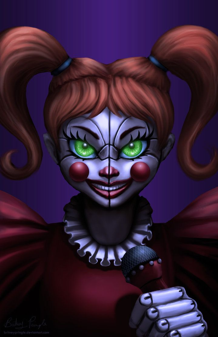 FNaF SL: Baby by BritneyPringle.deviantart.com on @DeviantArt