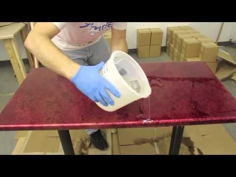 table top epoxy tutorial tabletop epoxy