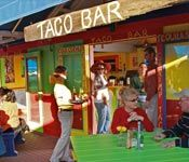 Local Taco Bar.  http://www.homeaway.com/vacation-rental/p234900