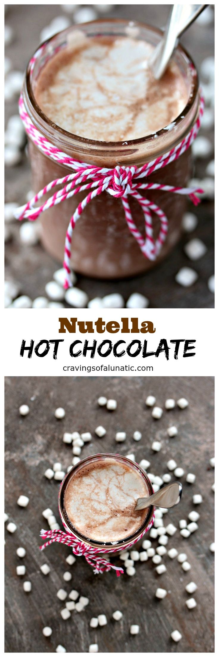 Making hot chocolate for a crowd - Nutella Hot Chocolate