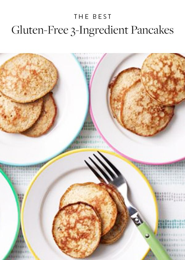 The Best 3-Ingredient Pancake Recipe Ever. It's quick, easy and healthy. No heavy lifting required.