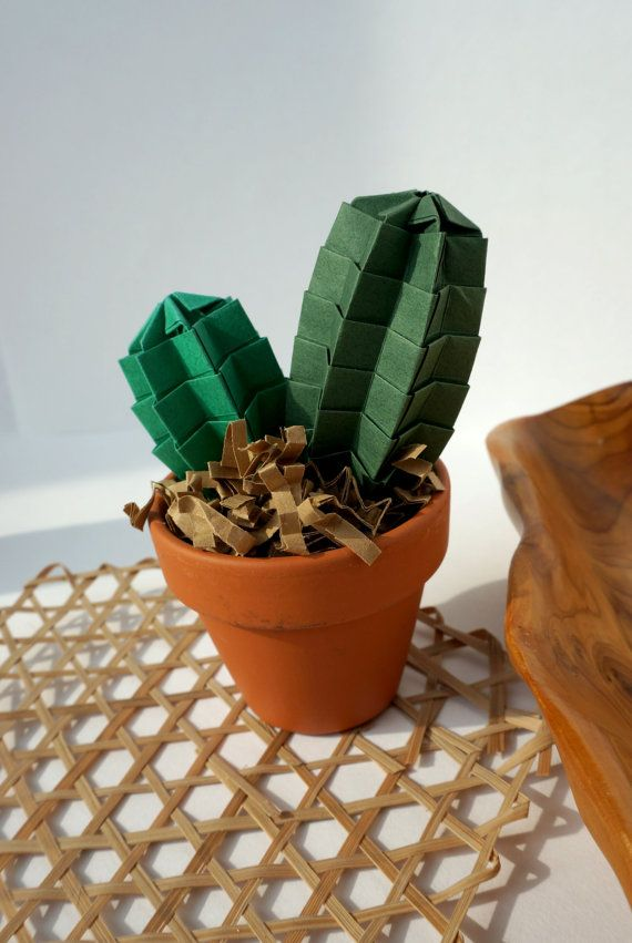 Hey, I found this really awesome Etsy listing at https://www.etsy.com/listing/205683599/origami-paper-art-forever-green-twinny