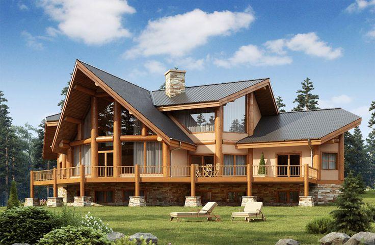 Casa di lusso in legno n.14