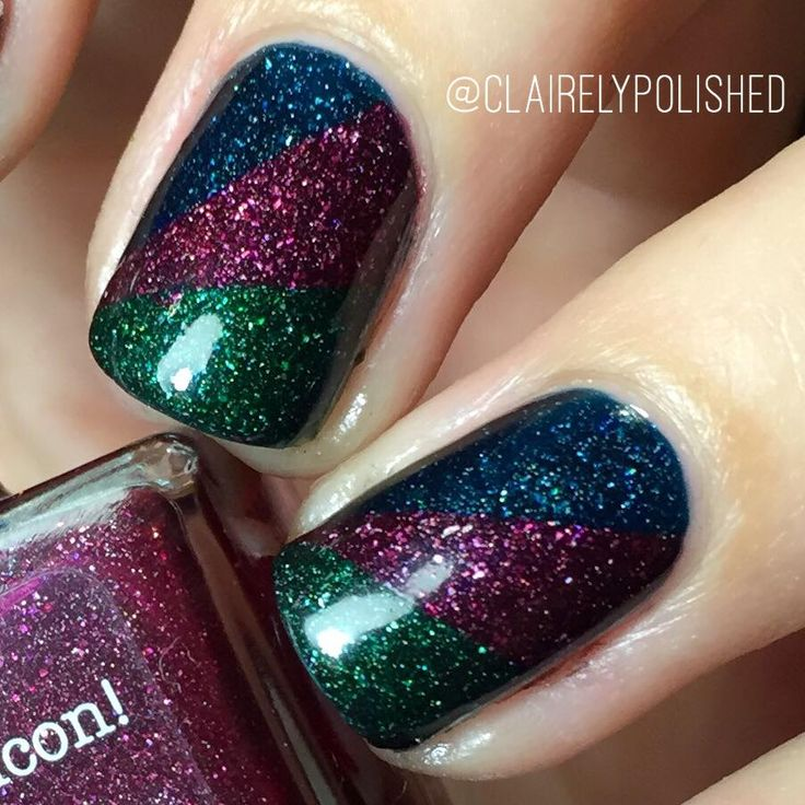 Picture Polish - Hope, Monroe and Kryptonite nailart design