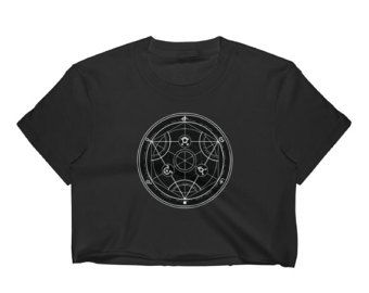 I love Luci- Sigil of Lucifer crop top  One of our newest items for summer, This fine jersey LA Apparel crop top is made of 100% 30/1 combed cotton. and is form fitting. A super soft crop top for ladies with edgy style. Trendy, with a light texture.   **FREE SHIPPING**  ► Feel free to convo me for any further questions  Thank you for your visit