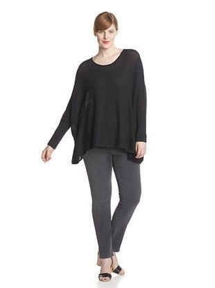 74% OFF Acrobat Plus Women's Oversize Pullover (Black)