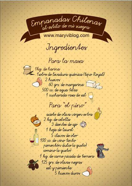 La receta de las empanadas chilenas o cómo prepararlas rellenas de pino