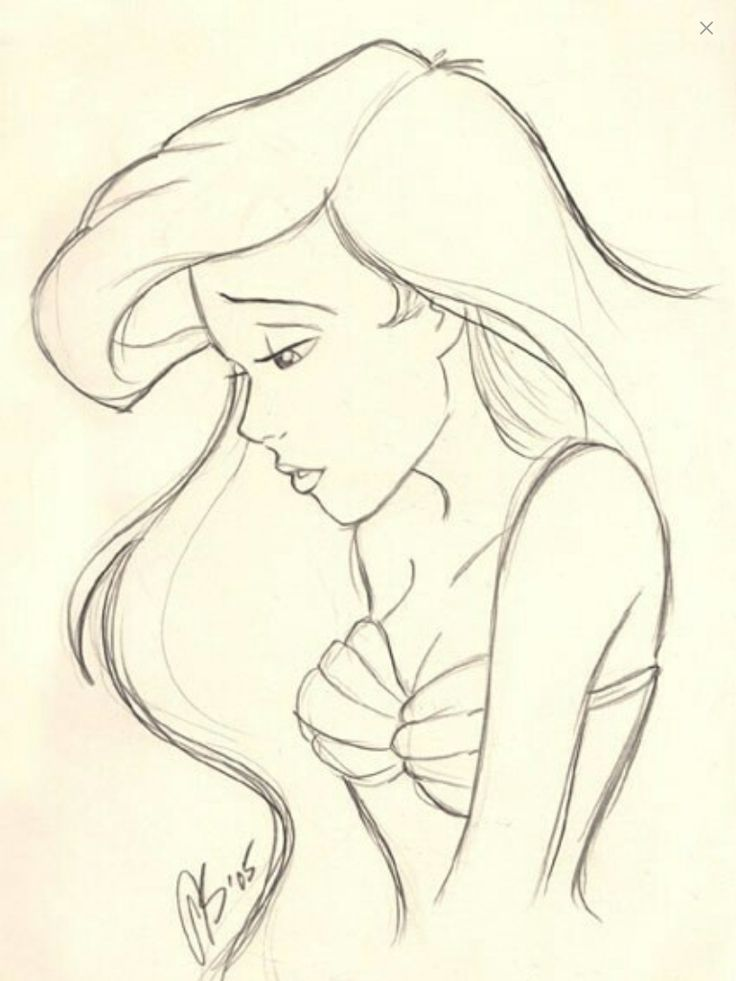 Ariel she's my favorite Disney Princess ever I love her so much