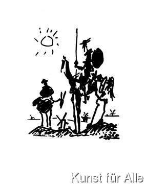 Pablo Picasso - Don Quixote